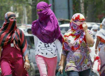 Heatwave in Central India