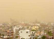 Dust storm in Jaipur