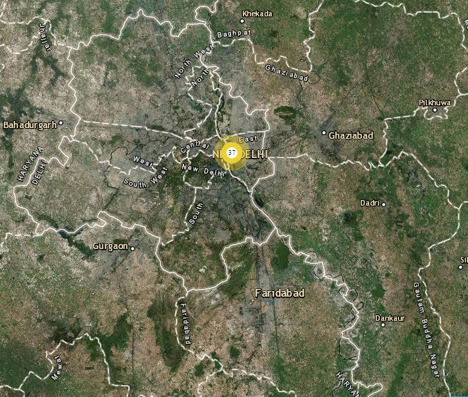 Lightning and Thunderstorm in Delhi and NCR