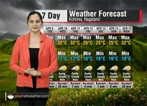 Weather Forecast for Nagaland from April 9 to April 15