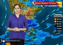 Weather Forecast April 20: Rain in Kerala, Tamil Nadu, Karnataka, Telangana and AP, North India to remain dry