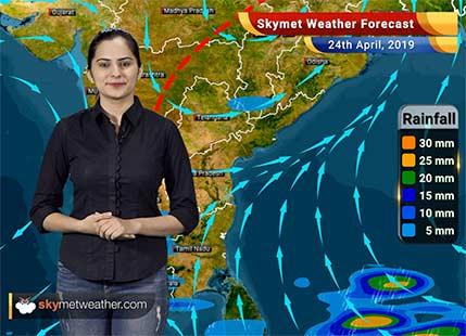 Weather Forecast April 24: Rain in Tamil Nadu, Kerala and Kashmir, hot weather in Delhi, Haryana