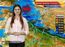 Weather Forecast April 10: Rain in Northeast India, West Bengal, Kashmir and Himachal, Delhi NCR to witness dust storm