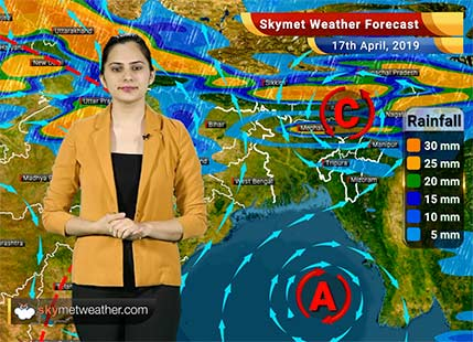 Weather Forecast April 17: Rain in Kashmir, Himachal Uttarakhand, Punjab, Haryana, Delhi and UP to continue
