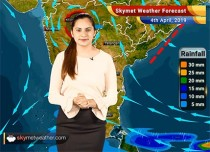 Weather Forecast April 4: Rain in West Bengal, Sikkim and Northeast India to continue, dust storm in Rajasthan likely