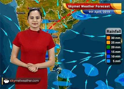 Weather Forecast April 9: Rain in East and Northeast India, Central India to remain dry and hot