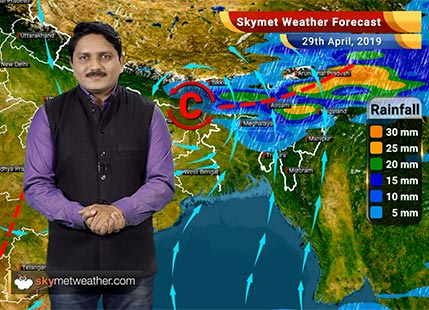 Weather Forecast for April 29: Severe Cyclone Fani to intensify into very severe cyclone soon