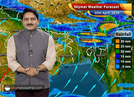 Weather Forecast for April 30: Severe cyclone Fani to reach nearby Tamil Nadu coast, rain to commence soon