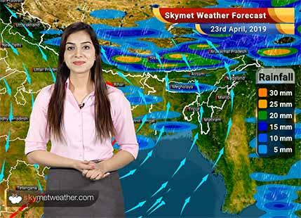 Weather Forecast for April 23: Heat wave in Haryana, Rajasthan, Gujarat, Madhya Pradesh and Maharashtra