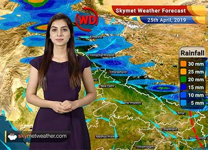 Weather Forecast for April 25: Rain in Punjab, Haryana and Uttar Pradesh, heat wave in Delhi