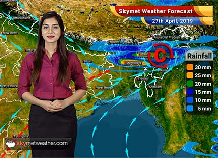 Weather Forecast for April 27: Rain in West Bengal Northeast, heat wave in Delhi