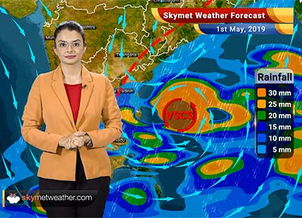Weather Forecast for May 1: Fani to become extremely severe Cyclone, heat wave in Delhi and Central India