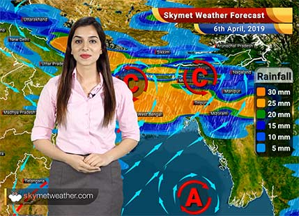 Weather Forecast for April 6: Dust-storm in Punjab and Haryana, Rain in Bihar-Jharkhand