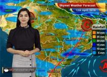 Weather Forecast for April 12: Rains in Punjab, Haryana, dust storm in Rajasthan, Delhi and Uttar Pradesh