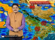 Weather Forecast for April 15: Dust storm with rain may bring relief from heat wave in north and central India