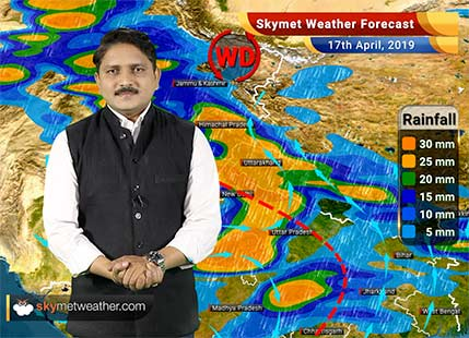 Weather Forecast for April 17: North India continues with good rains, east UP, Bihar and Jharkhand will also get rains