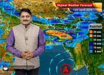 Weather Forecast for April 10: Rain to continue in Bihar, West Bengal and Northeast India