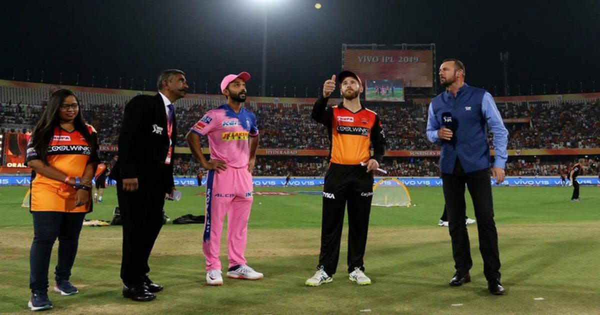 IPL 2019, Match 45 RR vs SRH at Jaipur
