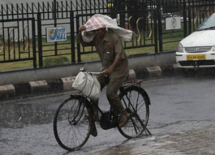 Rain in Bangalore