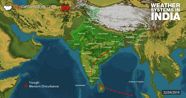 Weather-Systems-in-India-22-04-2019---600