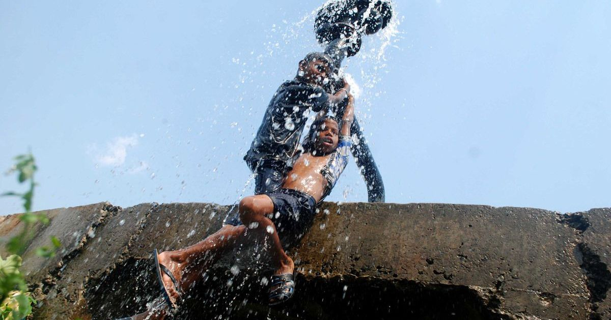 Heat Wave grips India
