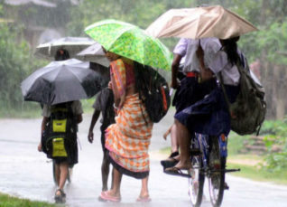 Rain in Northeast India