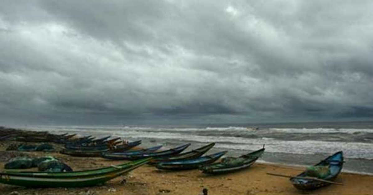 Cyclone in Andhra