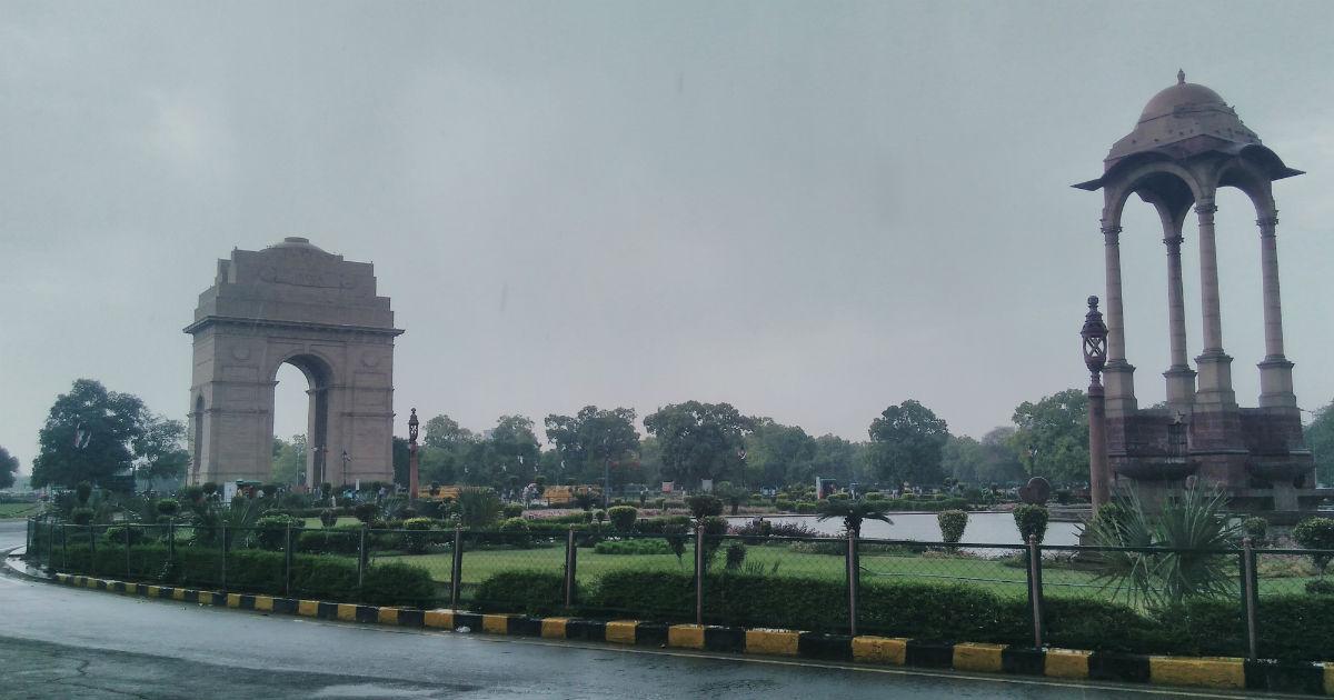 Delhi rain cools down Delhi weather