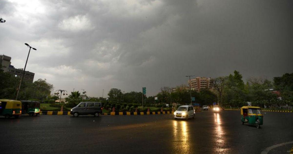 Delhi Weather: Rain In Delhi