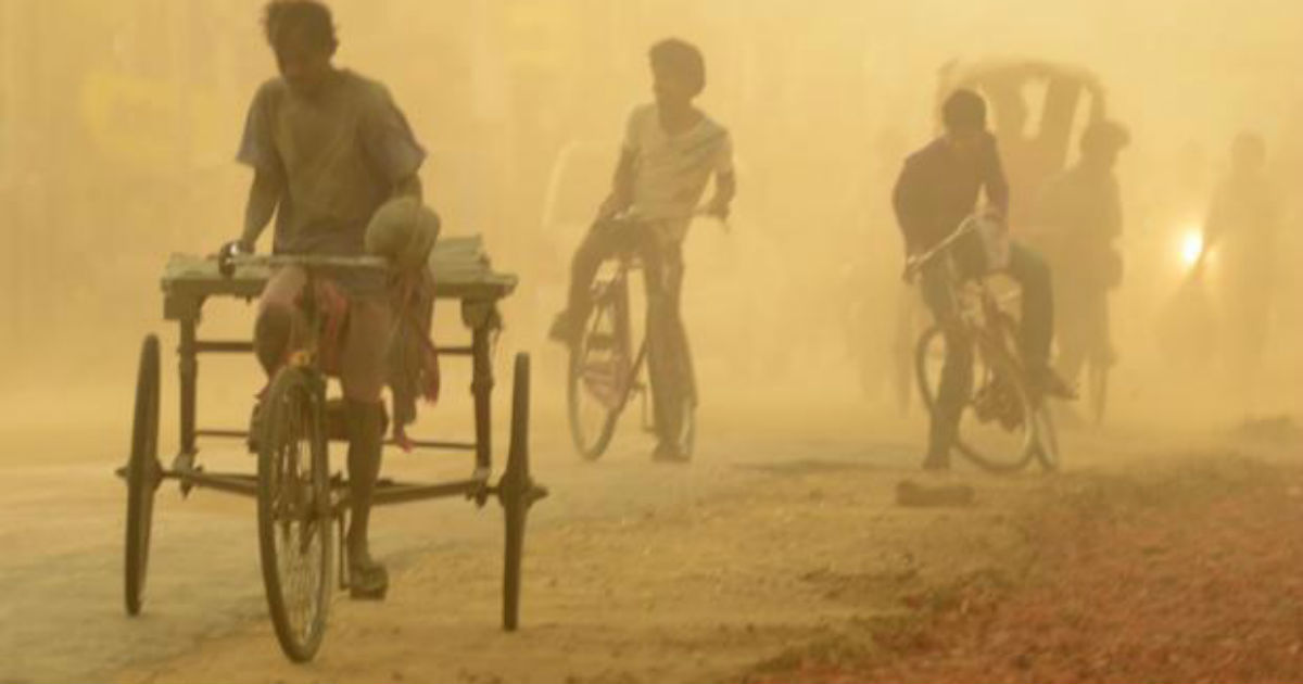 Dust storm in Rajasthan