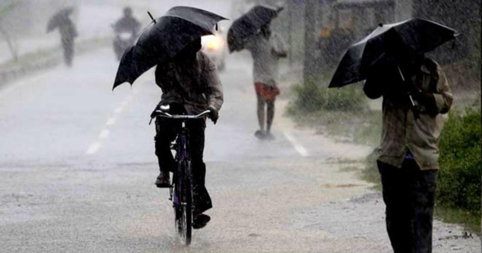 East India rains