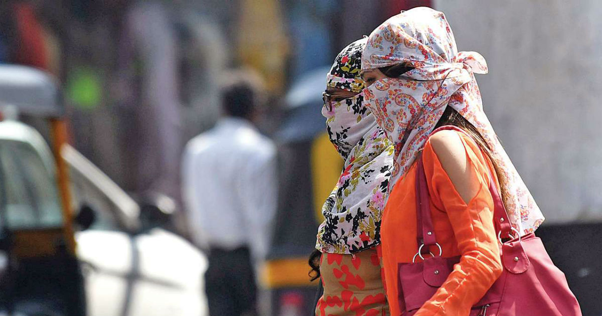 Heat wave in Prayagraj