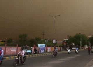 Dust storm in UP, Bihar