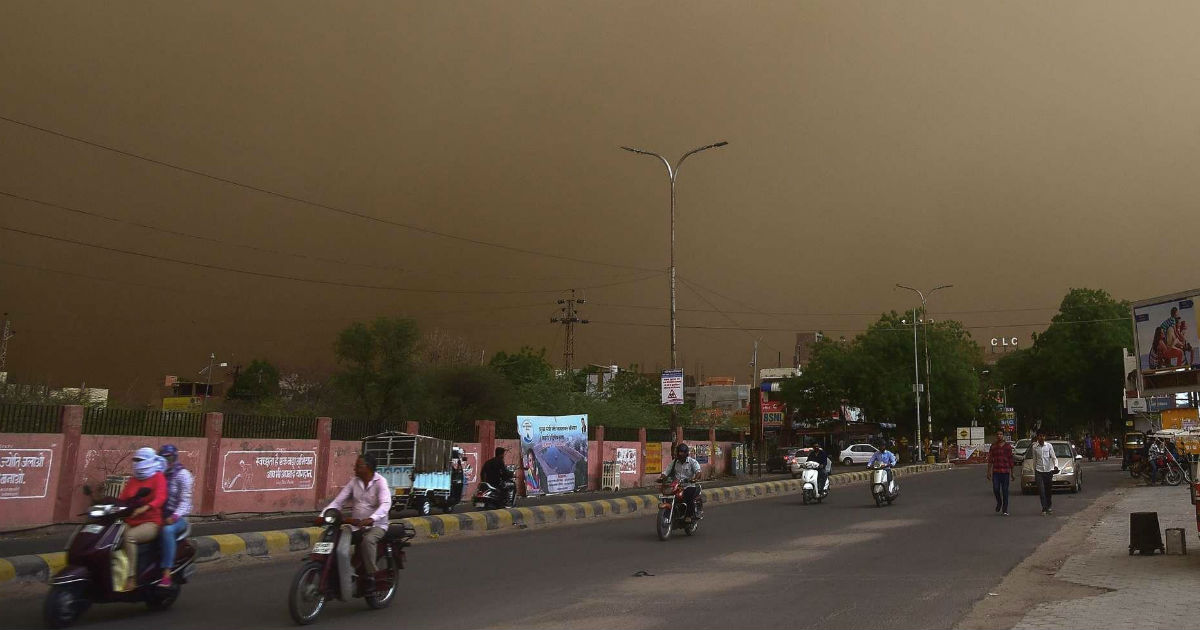 Dust storm in UP, Bihar