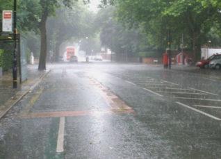 Monsoon Rain in Hyderabad