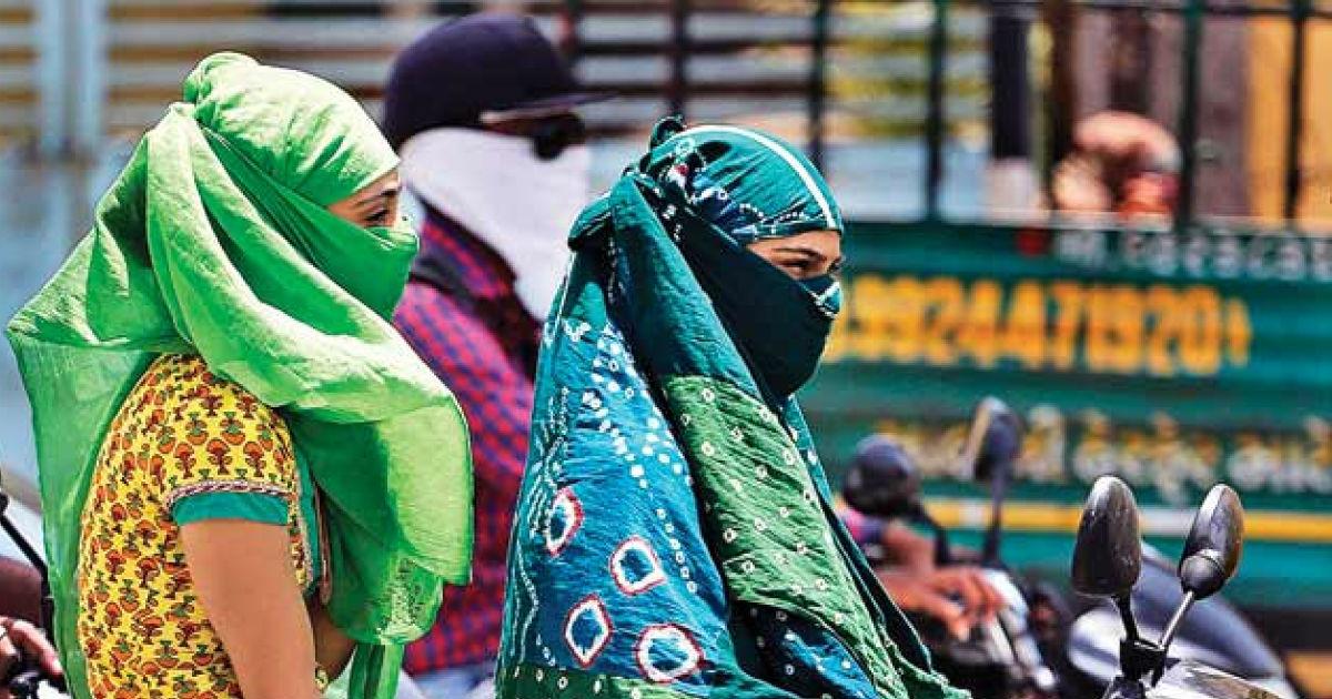 Heat wave in Maharashtra