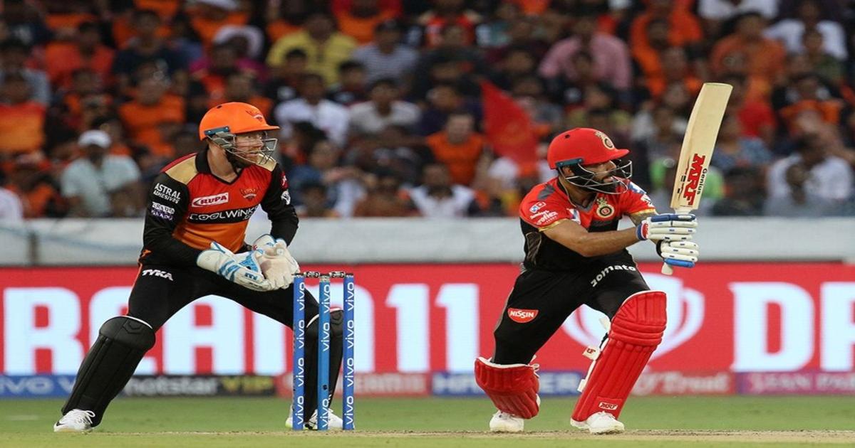 IPL 2019: RCB VS SRH