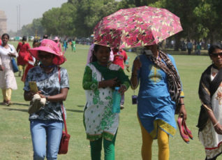 Heat wave in Delhi
