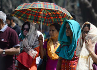 Heat wave in Delhi 2019