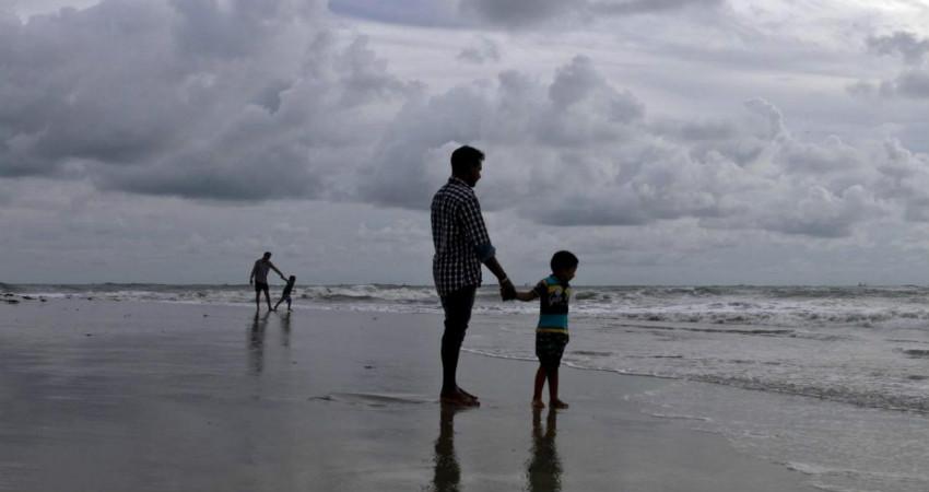 Pre Monsoon rain in Kerala