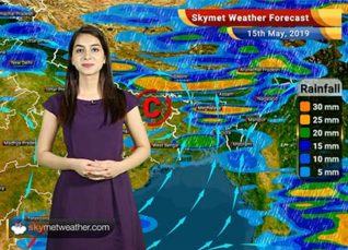 Weather Forecast for May 15: Pre-monsoon rains and thunder shower ahead for most parts of the country