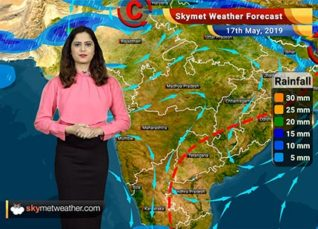 Weather Forecast for May 17: Rain in Kashmir, Himachal and Uttarakhand likely
