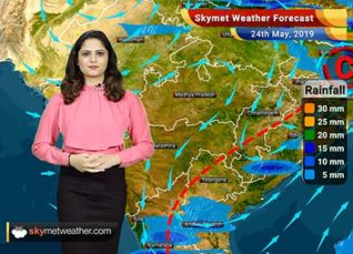 Weather Forecast for May 24: Rain in Haryana, Rajasthan and Delhi, heat wave in Vidarbha