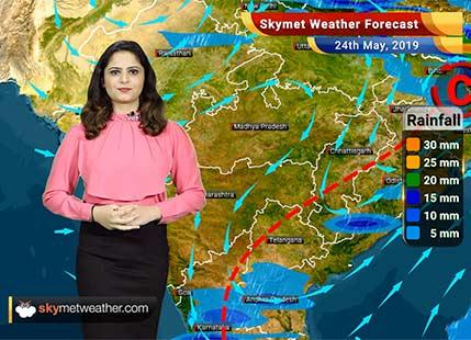 Weather Forecast for May 24: Rain in Haryana, Rajasthan and Delhi, heat wave in Vidarbha