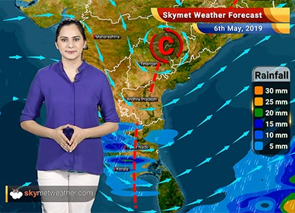 Weather Forecast May 6: Dry weather in Delhi, Mumbai, Kolkata, Hyderabad and Chennai | Skymet Weather