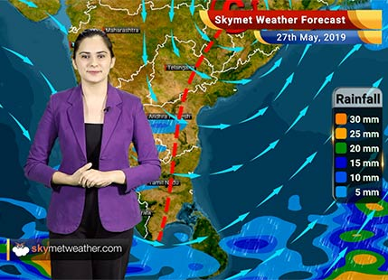 Weather Forecast May 27: Rain in Northeast, Sikkim, West Bengal, Tamil Nadu, Kerala and Karnataka