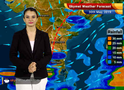 Weather Forecast May 30: Heat wave grips Northwest and Central India, pre-Monsoon rains in Northeast India