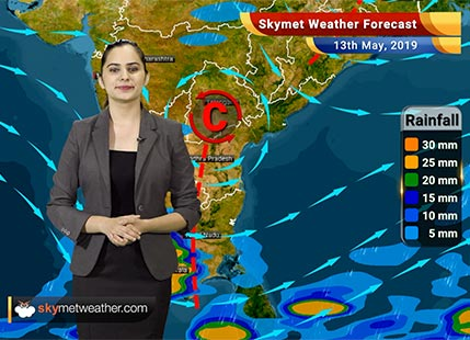 Weather Forecast May 13: Rain in Kashmir, Himachal, Uttarakhand, Kerala, Tamil Nadu, dust storm in Delhi