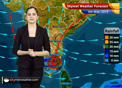 Weather Forecast May 8: Rain in Bengaluru and Chennai, dry weather in Delhi, Kolkata and Mumbai
