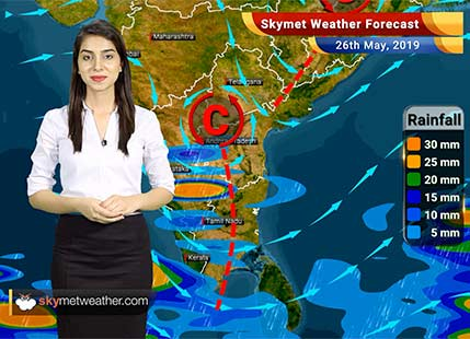 Weather Forecast May 26: West Bengal, Chhattisgarh, Tamil Nadu, Karnataka to receive rains
